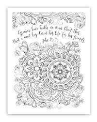 Various FREE Printable Christian Religious Adult Coloring Sheets W Bible Verses Every HD Images 2017 2018