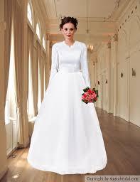 modest wedding dress with sleeves modest wedding gown custom