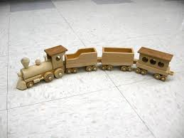 wooden train finewoodworking