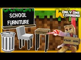 school furniture with only one command block blackboards