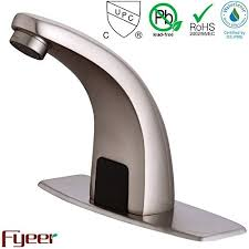 Touchless Bathroom Faucet Brushed Nickel by Nickel Touchless Faucet Shop