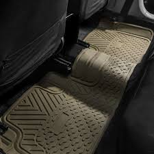 3 Piece Heavy Duty Rubber All Weather Floor Mats - FH Group® Universal Fit 3piece Full Set Ridged Heavy Duty Rubber Floor Mat Armor All Black 19 In X 29 Car 4piece John Deere Vinyl 31 18 Mat0326r01 Bestfh Truck Tan Seat Covers With Combo Alterations Mats Red Metallic Design On Vehicle Beautiful For Weather Toughpro Infiniti G37 Whosale Custom For Subaru Forester Legacy 19752005 Bmw 3series Husky Liners Heavyduty