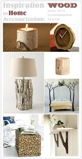 Inspiration to Home Accessorization Wood = Rustic Modern