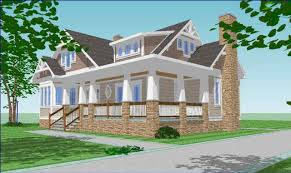 Arts And Craft Style Home by Craftsman Style Designs