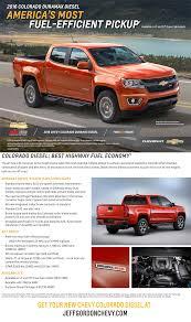 100 Most Fuel Efficient Pickup Truck 2016 Chevrolet Colorado Duramax Diesel Americas