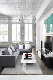 Gray Sectional Living Room Ideas by Ceiling Elegant Living Room Design With American Tin Ceilings And