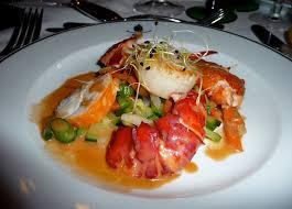 cuisiner homard congelé recette d une salade de jacques et homard