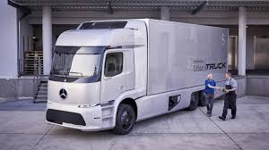 Mercedes-Benz Urban ETruck, World's First Electric Semi, On Roads ...