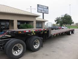 100 Step Deck Truck 2005 Fontaine Spread Axle Trailer Freeway Sales