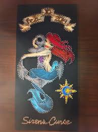 Mermaids String Art Patterns