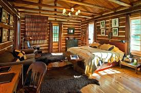 Lodge Style Decor Idea A Rustic Living Room Makeover