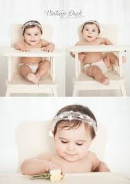 Vintage Duck Photography | 1 Year Old In Vintage High Chair ...