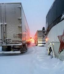 500 Cars, Trucks Buses Spend Hours Stuck In Snow On Pa. Turnpike ...