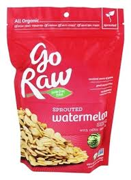 Go Raw Sprouted Pumpkin Seeds Bar by Go Raw Archives Highvibe