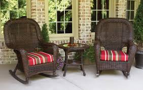 Sea Pines All Weather Wicker Rocking Chair Set - Tortuga Outdoor ... Sunnydaze Outdoor Patio Rocking Chair Allweather Faux Wood Design Brown The Polywood Heritage Indoor Chairs White Pvc All Weather Coral Coast Losani Wicker Old Hickory Porch Hanover Adirondack Hvlnr10wh Fniture Best Way For Your Relaxing Using Pineapple Cay Allweather Choiceproducts Deck Proof With Cushions Magnificent Mainstays Briar Creek Padded Set Of 2 Multiple Colors