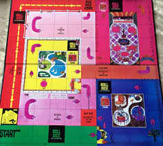 Game Board Its Minimalist Depiction Of Central Park Is A Bit Let Down The Bright Colors And Drawing Style Are Very 1960s However