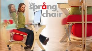 Yoga Ball Desk Chair Benefits by The Språng Chair The Perfect Balance Of Movement U0026 Comfort By