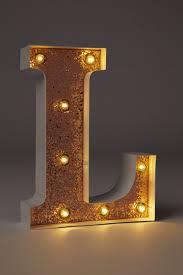 Letter Light N The Vintage Industrial
