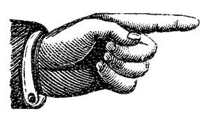 Victorian Clip Art Pointing Hands Steampunk The Graphics Fairy