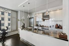 Easy On The Eye Blue Accents Wall Color Scheme Of Modern Apartment Formidable Kitchen Decorating Ideas