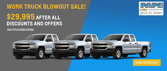 New Chevy & Used Car Dealer In South Portland | Pape Chevrolet