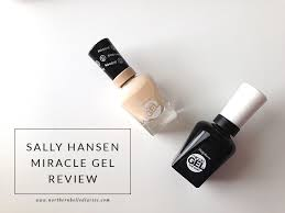sally hansen miracle gel review la la lisette