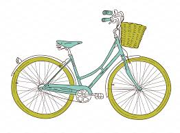 Two Bicycles Clip Art Chopper Bicycle