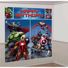 Halloween Scene Setters by Avengers Scene Setter Kit Walmart Com