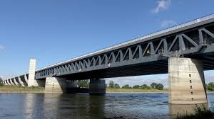 100 Magdeburg Water Bridge Wasserstraenkreuz Way Junction