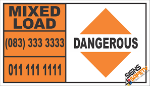 Dangerous Mixed Load Hazchem Sign, Bakkie Hazchem Placards - Warning ... Chemical Placards On Trucks Best Image Truck Kusaboshicom Hazmat Semi Common Dot Vlations With Placards Youtube Car Wraps Vinyl Graphics Fleet Letters Van Transportation Of Dangerous Goods Poster A142 Tdg Progressive Forest Phmsa Exempts Securecargo Carriers From California Rest And Transfer Traing Requirements Fuels Learning Centrefuels Centre Nmc 4digit Dot Vehicle 1863 3 New Items Dotimo Hazardous Materials Placards Flammable Stock Photo Edit