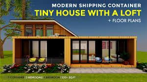 100 Modern Loft House Plans Shipping Container Tiny Design With A Floor Plans 2018 MODLOFT 320