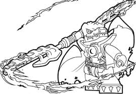 Chima Coloring Page
