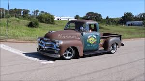 100 Chevy Hot Rod Truck 1954 3100 Rat YouTube