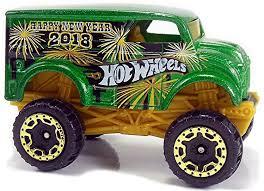 100 Hot Wheels Monster Jam Trucks List Dairy Delivery 58mm 2012 Newsletter