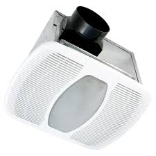 Ventline Bathroom Ceiling Exhaust Fan Light Lens by 50 Cfm Ceiling Exhaust Bath Fan With Light 678 The Home Depot