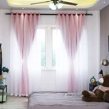 2019 Ivolador Solid 3D Floral Sheer Window Curtain Balcony Valances