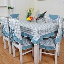 New Arrival Green Fashion Plaid Table Cloth Dining Chair Cushion Seat Cover Pastoral Suit In Tablecloths From Home Garden On