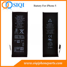 Repair Parts for iPhone 5 Battery Replacement China Supplier