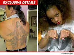 Say What You Want About Rihannas New THUG LIFE Tat Because Shes Already Getting Props From Machete Star And Tattoo Connoisseur Danny Trejo Who