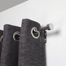 Amazon Curtain Rod Extender by Umbra 91 4 182 6 Cm Cappa Double Curtain Rod Chrome Amazon Co