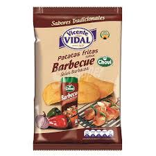 Vidal Patatas fritas sabor salsa barbacoa Bolsa 135 g C³mpralo en