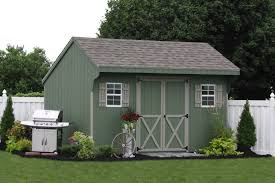 assemble your own amish built storage shed or car garage kit from