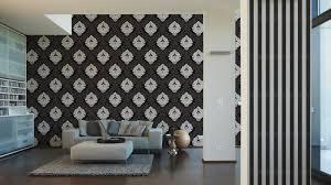 tapete bling bling barock glitzer schwarz weiß 3139 59