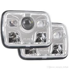 2018 5x7 Inch Led Headlight Daymaker Sealed Beam Replacement Dot ... Fj62 Replacement Led Headlights Ih8mud Forum Truck Lite Headlight Ece 27491c Trucklite 270c Jeep Jk Kit 7 Round Pair Anti Wrangler By Jw Speaker And At Headlightsfinally Ordered A Set Page 10 Led Headlights For Trucksled 55003 5 X Rectangle Installed On Land Cruiser Fj40 Fj55 Minitruck Set Of 2 Rigid Light Truck Lite Headlight Kit Headlight With Park Light Adr Approved Lights