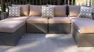 Sirio Patio Furniture Soho by Hampton 6 Piece Patio Deep Seating Sectional By Sirio U0026raquo