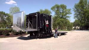 100 Conestoga Truck Aero Industries 2 Dropdeck Demonstration YouTube