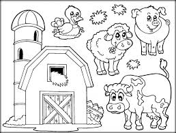 Large Size Of Coloring Pagesexcellent Farm Animals Animal 1 Pages Amazing