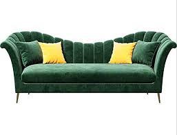 modernes samt sofa in vielen farben kaufen