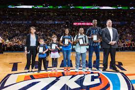 Pumpkin Patches In Okc by Lawton High Student Awarded At Okc Thunder Game Kswo