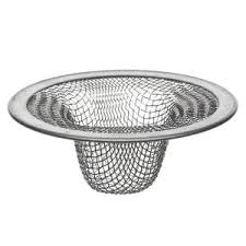 4 1 2 in mesh kitchen sink strainer in stainless steel 88822